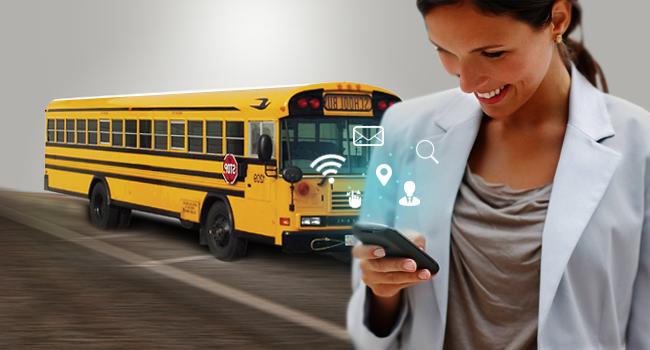 School bus tracking Dubai Sharjah Ajman